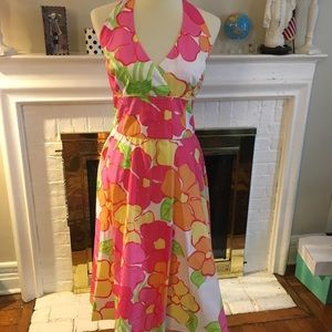 Lilly Pulitzer floral lined dress